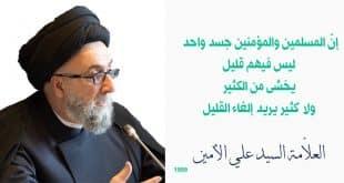 الشيعة والتقريب - السيد علي الأمين