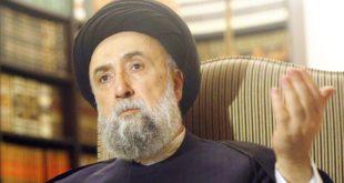 المرجع الديني السيد علي الأمين - وكالة الأناضول