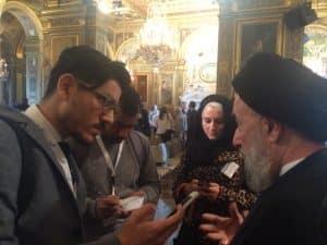 الامين | حوار الثقافات والأديان في خدمة السلام العالمي - باريس 9