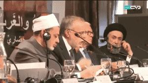 الامين | حوار الثقافات والأديان في خدمة السلام العالمي - باريس 13