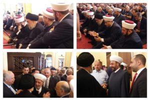لبنان صلاة العيد صلاة للوحدة والتآلف