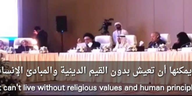 الامين | البوارج الحربية والقيم الدينية والمبادئ الإنسانية