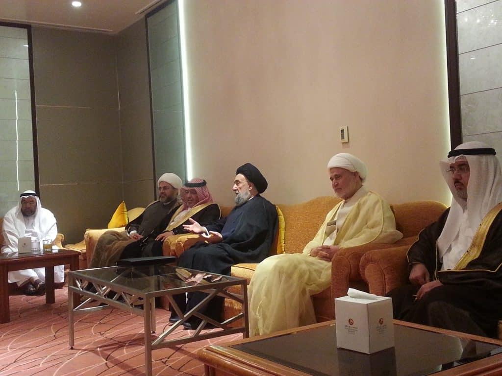 كلمة العلاّمة السيد علي الأمين : مملكة البحرين – وثيقة المدينة-عقد المواطنة الأول 20170509_084714-1024x768