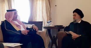 الامين | العلاّمة الأمين استقبل الامين العام لمركز الملك عبد الله للحوار 1