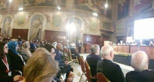 الامين | العلاّمة #السيد_علي_الأمين في روما مشاركا في الملتقى العالمي الثالث حول الشرق والغرب 2