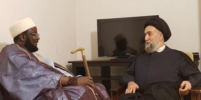 الامين | المستشار الخاص للرئيس السنغالي زار العلاّمة السيد علي الأمين