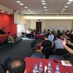 الامين | العلاّمة الأمين محاضراً في منتدى الشباب العربي للحوار بين أتباع الأديان والثقافات 10