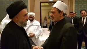 الامين | العلاّمة السيد علي الأمين: الأديان لا تدعو للعصبية والشعبوية بل إلى مكارم الأخلاق 2