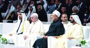 محمد-بن-راشد-محمد-بن-زايد-البابا-فرنسيس-شيخ-الازهر