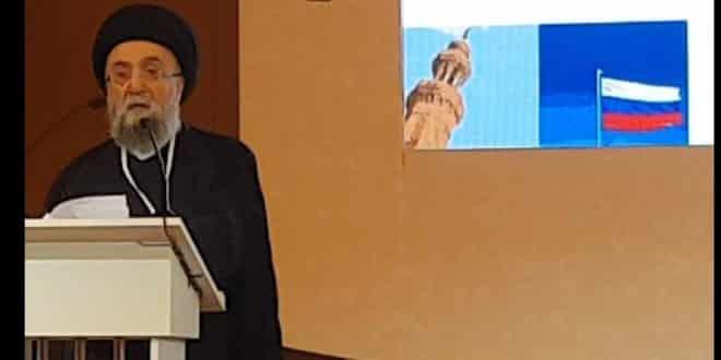 السيد علي الامين - الاسلام رسالة الرحمة والسلام - موسكو - غروزني -Ramzan Kadyrov