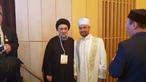 السيد علي الامين - الاسلام رسالة الرحمة والسلام - موسكو - غروزني -Ramzan Kadyrov - الشيخ محمد عبد الكريم العيسى - رابطة العالم الاسلامي