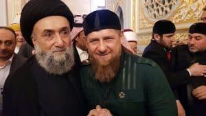 السيد علي الامين - الاسلام رسالة الرحمة والسلام - موسكو - غروزني -Ramzan Kadyrov - رابطة العالم الاسلامي - الشيخ محمد بن عبد الكريم العيسى
