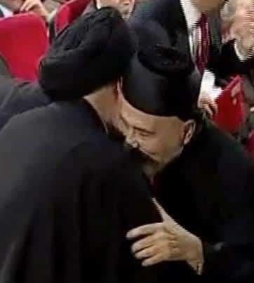 البطريرك صفير - السيد علي الامين